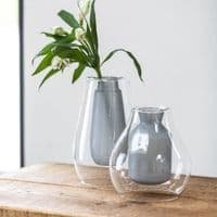 Suspended Tall Grey Vase   Home Accessories